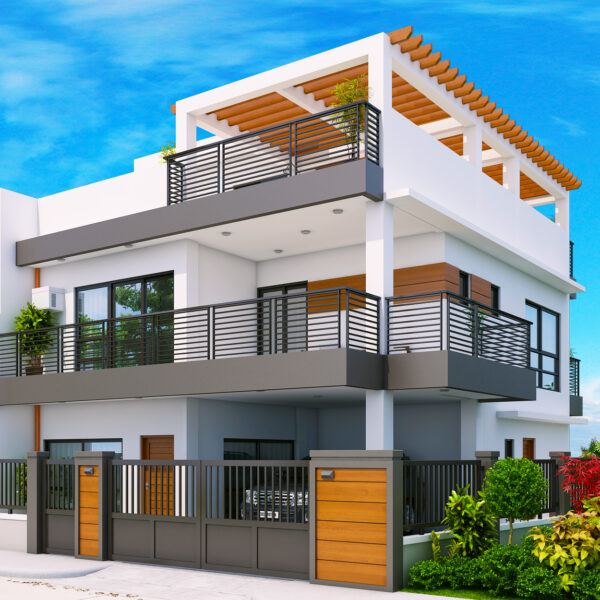 Two Storey with Roof Deck