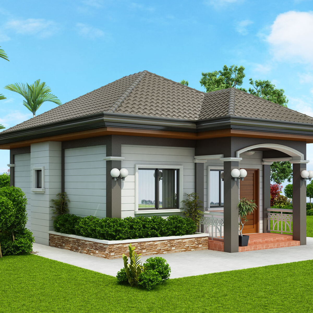 One Storey House Plans